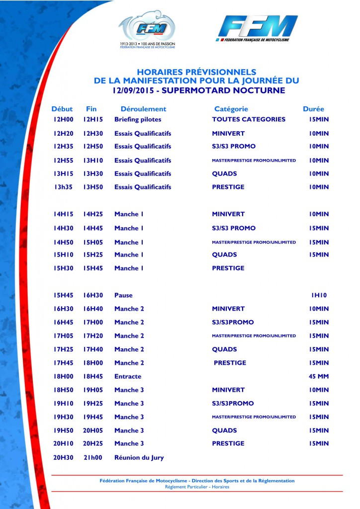 RP - Horaires.qxd